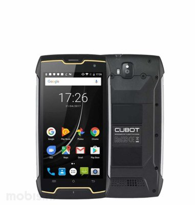 Cubot King Kong CS 2GB/16GB: crni