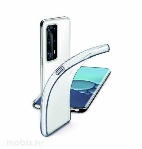 Cellularline silikonska zaštita za uređaj Huawei P40: prozirna