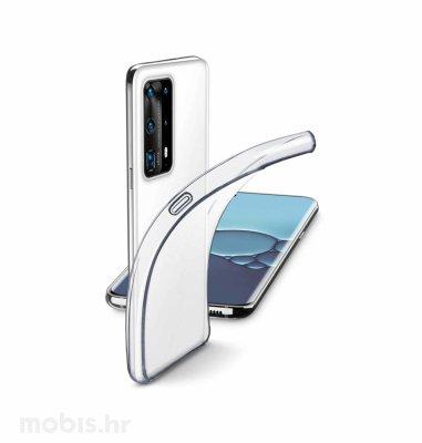 Cellularline silikonska zaštita za uređaj Huawei P40 Pro: prozirna