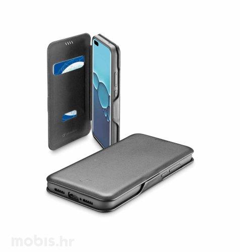 Cellular line preklopna maskica za Huawei P40 Pro: crna