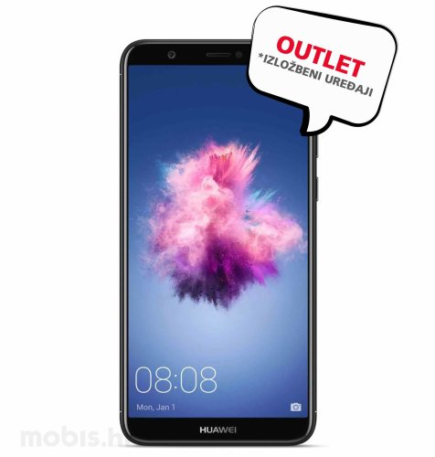 OUTLET: Huawei P Smart: crni