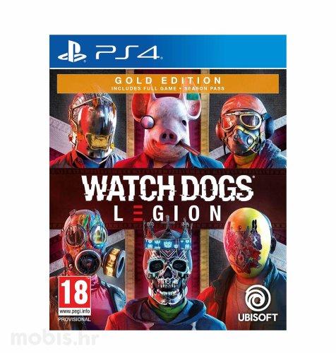 Watch Dogs Legion Gold Edition igra za PS4