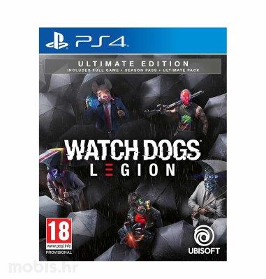 Watch Dogs Legion Ultimate Edition igra za PS4