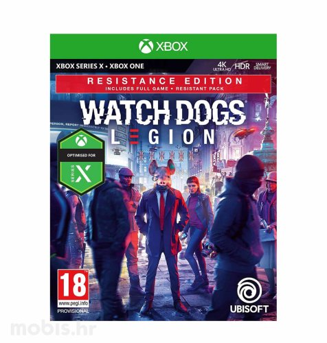 Watch Dogs Legion Resistance Edition igra za Xbox One