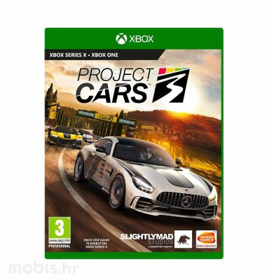Project Cars 3 Standard Edition igra za Xbox