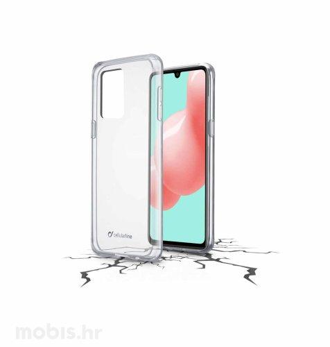 Cellular line plastična zaštita za uređaj Samsung A41: prozirna