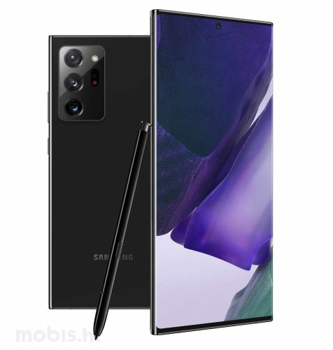 Samsung Galaxy Note 20 Ultra 12GB/256GB: mistično crna