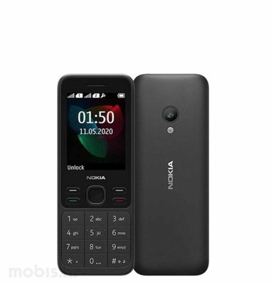 Nokia 150 2020 Dual SIM: crna