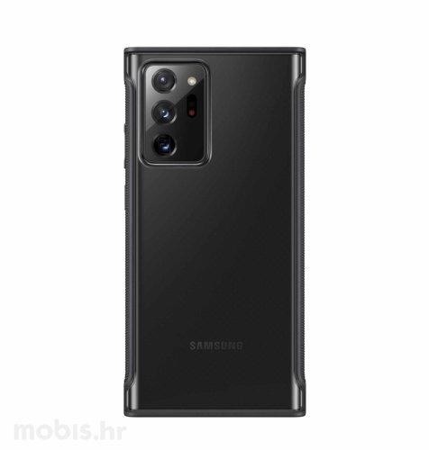 Prozirna maska za Samsung Galaxy Note 20 Ultra: crna