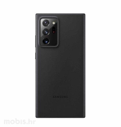 Kožna maska za Samsung Galaxy Note 20 Ultra: crna