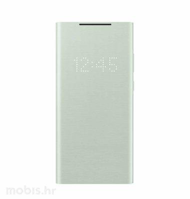 LED View maska za Samsung Galaxy Note 20: mistično zelena