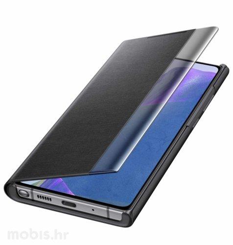 Preklopna maska za Samsung Galaxy Note 20 Ultra: mistično crna