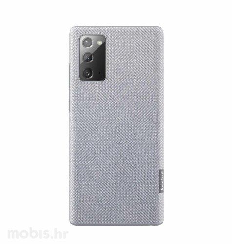Tekstilna maska za Samsung Galaxy Note 20 Ultra: siva