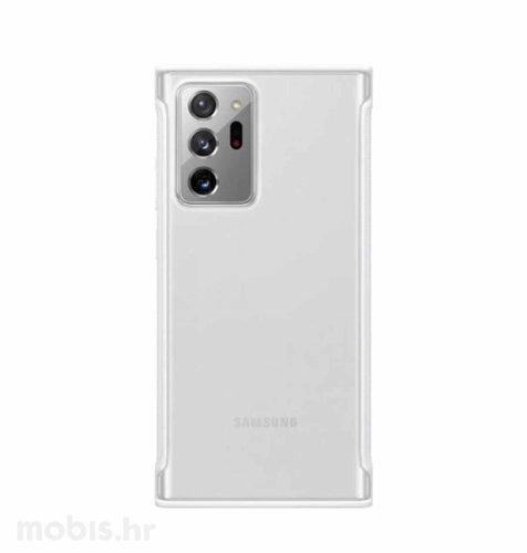 Prozirna maska za Samsung Galaxy Note 20 Ultra: bijela