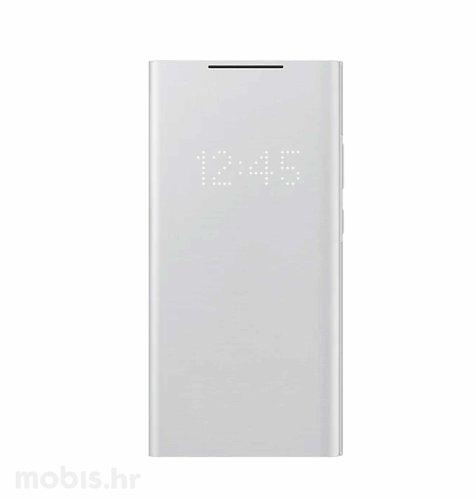LED View maska za Samsung Galaxy Note 20 Ultra: mistično bijela