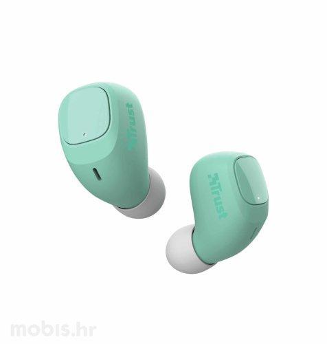Trust Nika Compact bežične slušalice: tirkizne