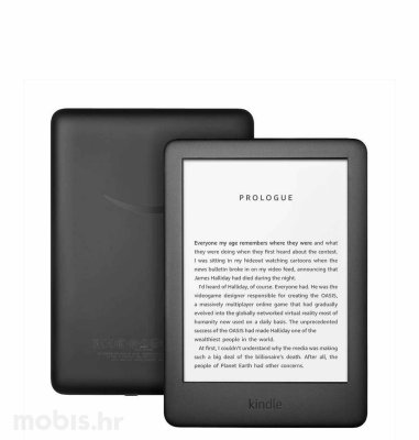 Kindle e-book čitač 2019 SP (2019 - 10th generation), 6''8gb, WiFi:crna