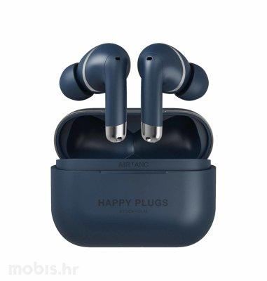 Happy Plugs Air1 Plus ANC bežične slušalice: plave