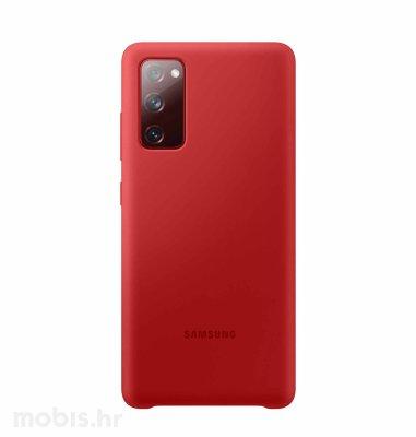 Silikonska maska za Samsung Galaxy S20 FE: crvena