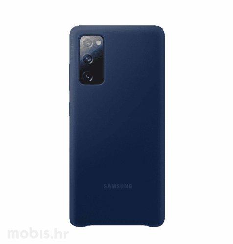 Silikonska maska za Samsung Galaxy S20 FE: navy plava