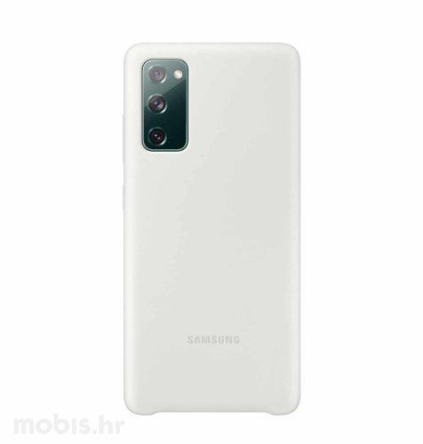 Silikonska maska za Samsung Galaxy S20 FE: bijela