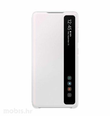Prozirna zaštitna maska za Samsung Galaxy S20 FE: bijela