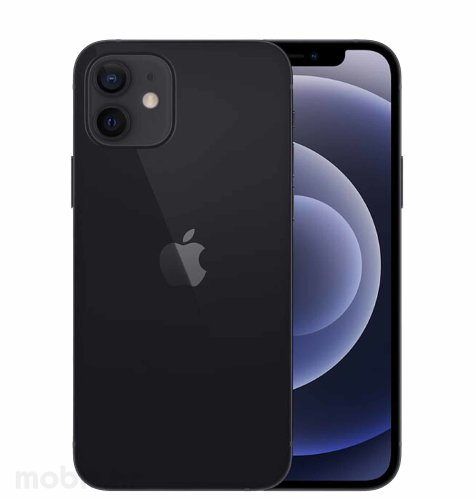 Apple iPhone 12 64GB: crni