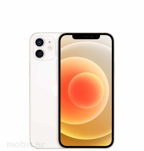 Apple iPhone 12 Mini 128GB: bijeli