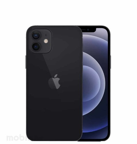 Apple iPhone 12 128GB: crni
