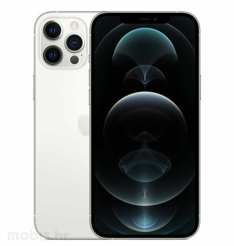Apple iPhone 12 Pro Max 512GB: srebrni