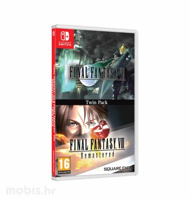 Final Fantasy VII & Final Fantasy VIII Remastered igra za Switch
