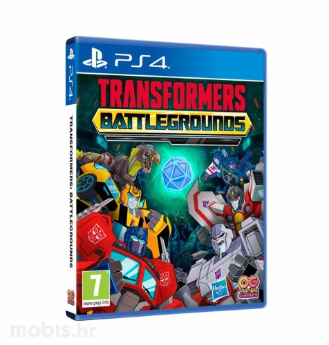 Transformers Battlegrounds igra za PS4