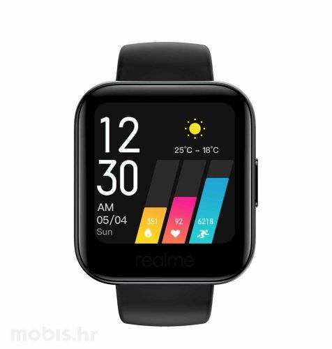 Realme Watch pametni sat: crni