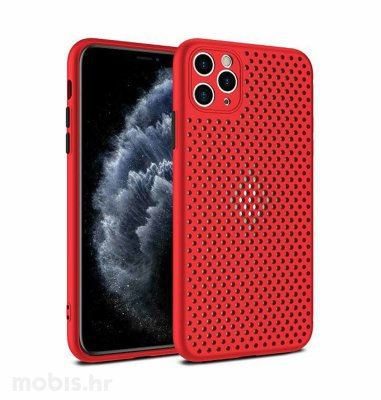 MaxMobile Style hole zaštita za iPhone 12 Mini: crvena