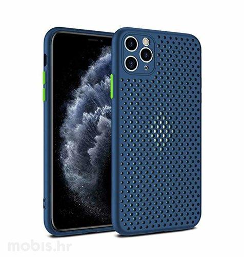 MaxMobile Style hole zaštita za iPhone 12/12 Pro: plava
