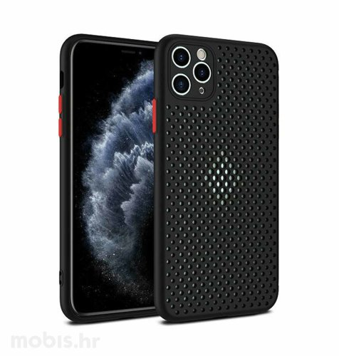MaxMobile Style hole zaštita za iPhone 12/12 Pro: crna