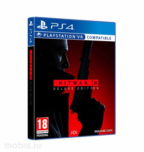 Hitman 3 Deluxe Edition igra za PS4