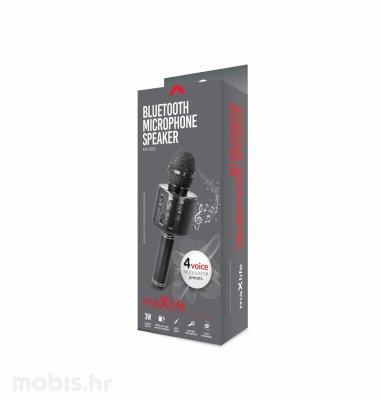 Maxlife bluetooth mikrofon sa zvučnikom (MX-300): crni
