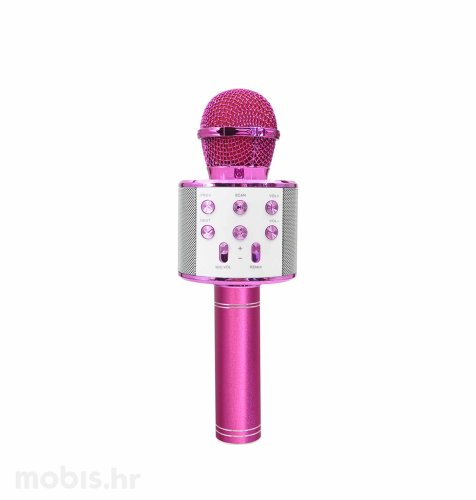Maxlife bluetooth mikrofon sa zvučnikom (MX-300): rozi