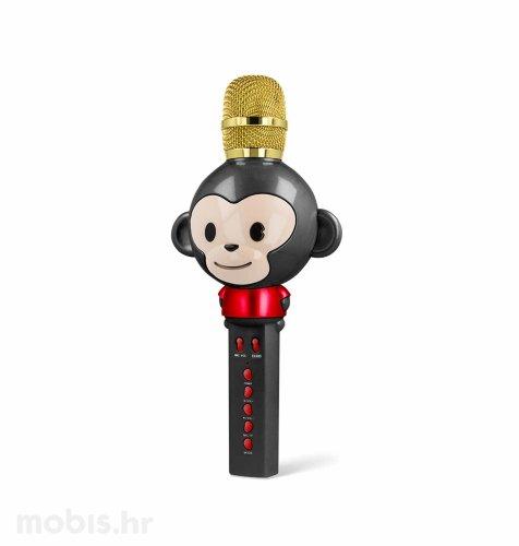 Maxlife bluetooth mikrofon sa zvučnikom u obliku životinje (MX-100): crni