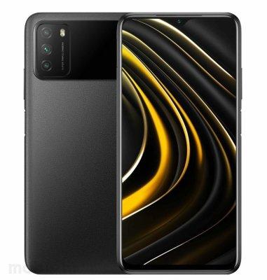 POCO M3 4GB/64GB: crni