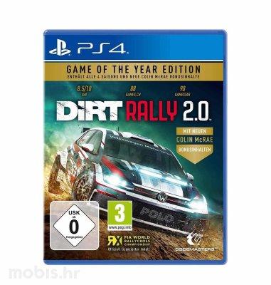 Dirt Rally 2.0 GOTY igra za PS4