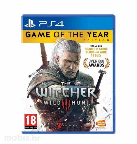 The Witcher 3: Wild Hunt GOTY igra za PS4
