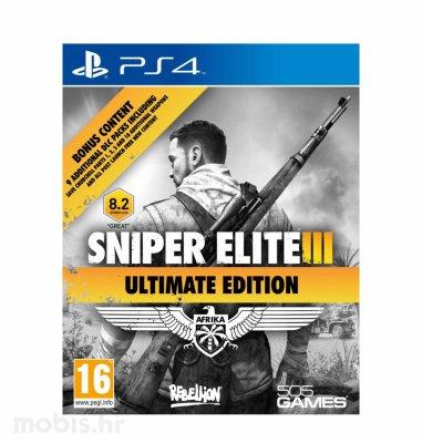 Sniper Elite III Ultimate Edition & 9 DLC packs igra za PS4