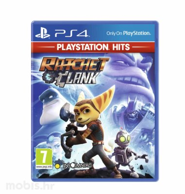 Ratchet and Clank Hits igra za PS4