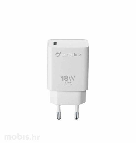 Cellularline adapter za Apple Type-C 3A/18W