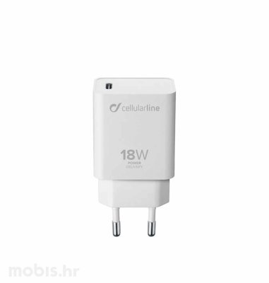 Cellular Line adapter za Apple Type-C 3A/18W