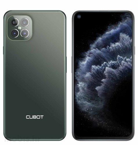 Cubot C30 DS 8GB/128GB: zeleni