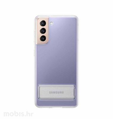 Stojeća zaštita za Samsung Galaxy S21: prozirna