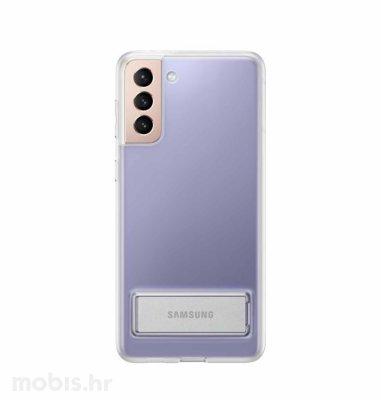 Stojeća zaštita za Samsung Galaxy S21+: prozirna